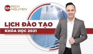 LỊCH ĐÀO TẠO KHÓA HỌC BẤT ĐỘNG SẢN CHUYÊN SÂU NĂM 2021
